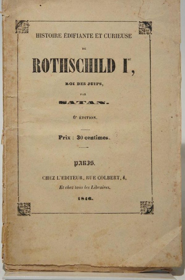 Rothschild I, koning der Joden